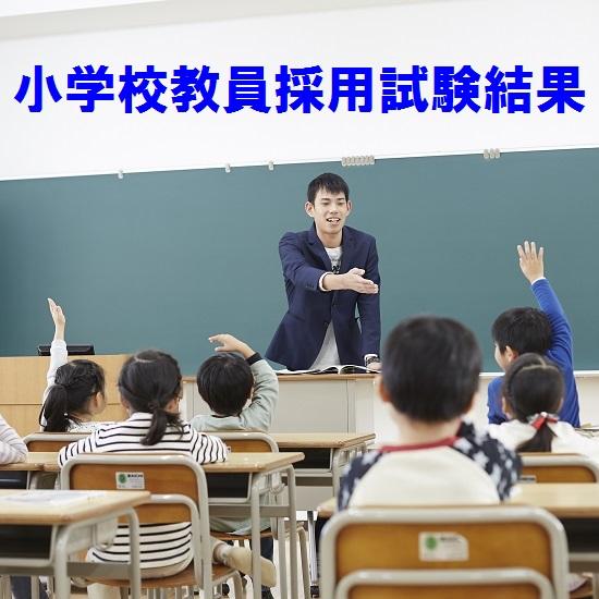 平成30年度 小学校教員採用試験結果